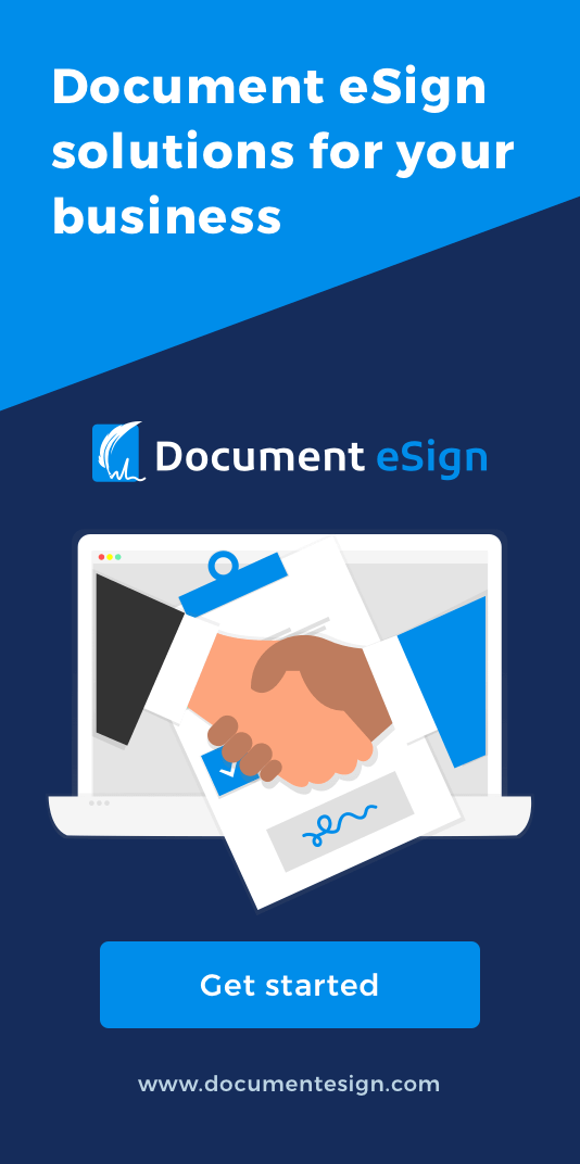 document esign - contact us