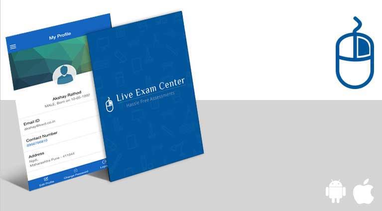 live exam center app