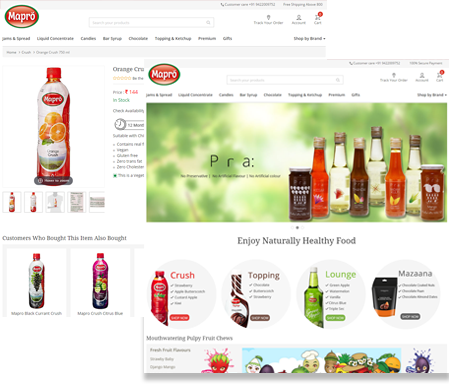 online ecommerce website