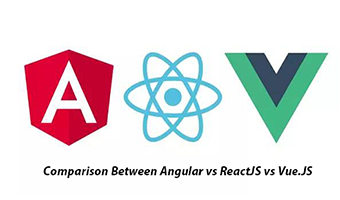 angular vs react vs vue