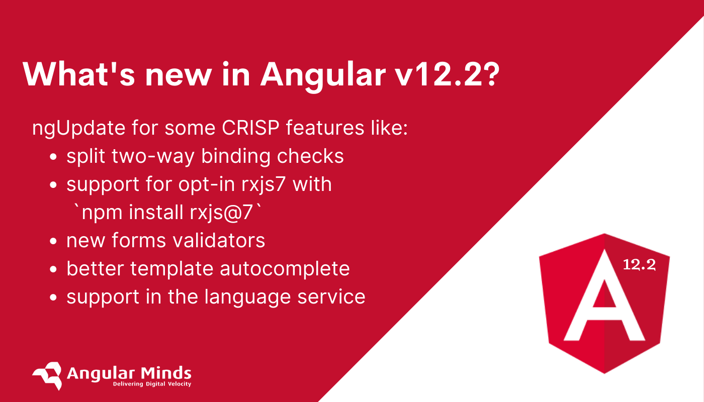 Angular version 12.2