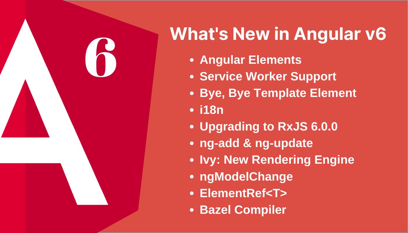 Angular 6 features