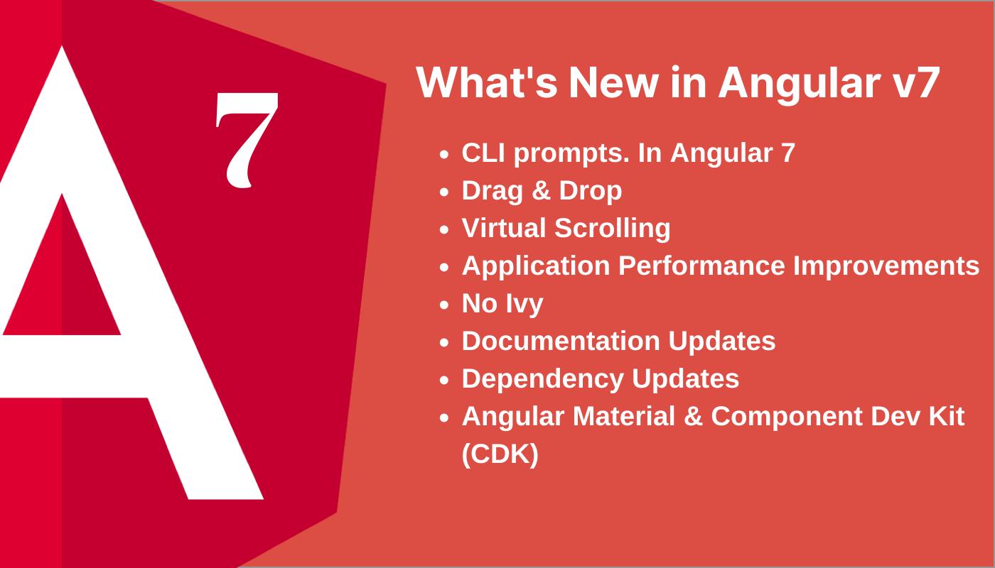 Angular 7 features