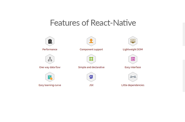 Features of react-native
