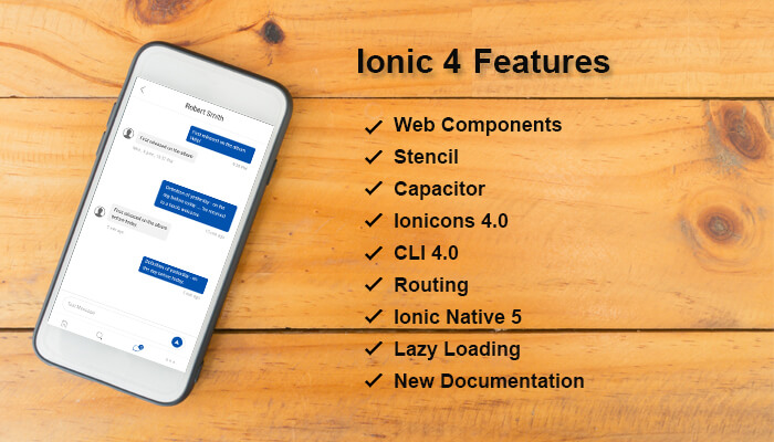 ionic 4 new features