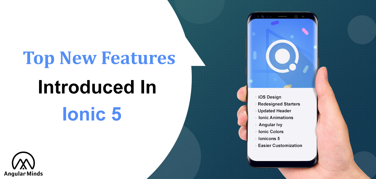 Ionic 5 features