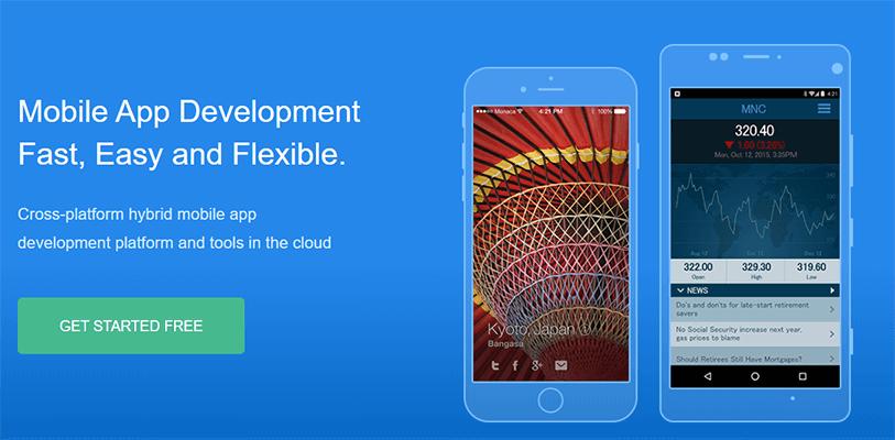Mobile app framework -  monaca