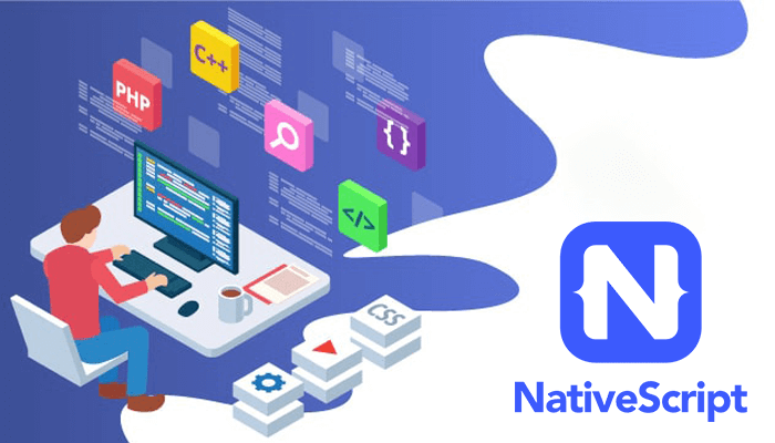Mobile app framework -  Native Script