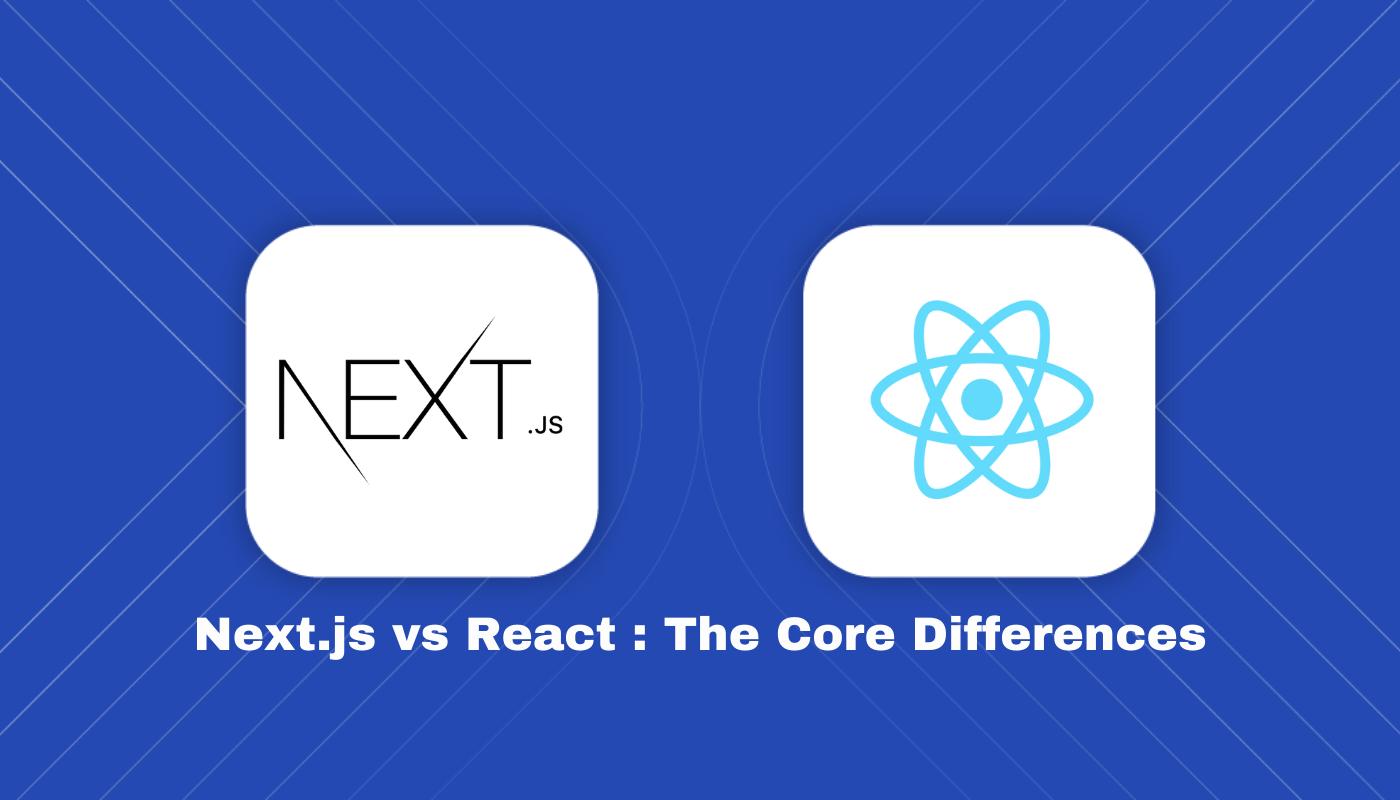 nextjs vs react