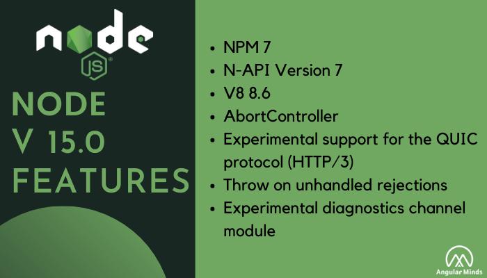 Node.js 15 Features