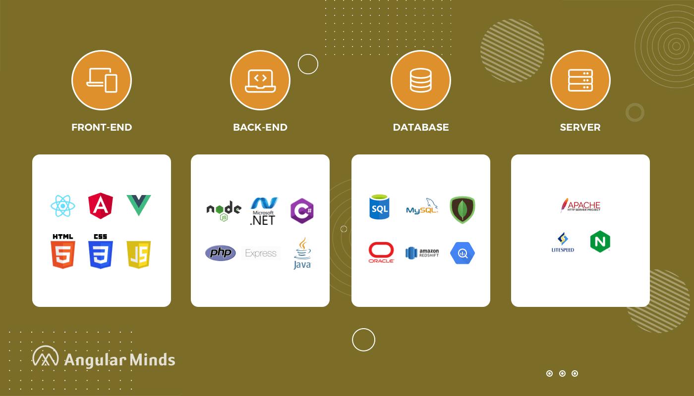 web development tech stack