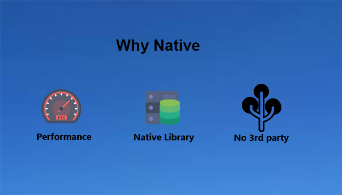 why-native
